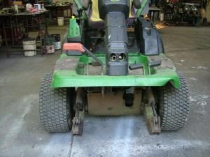 Small orchard machinery repairs.