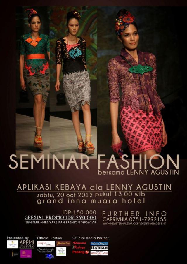 fashion seminar lenny agustin