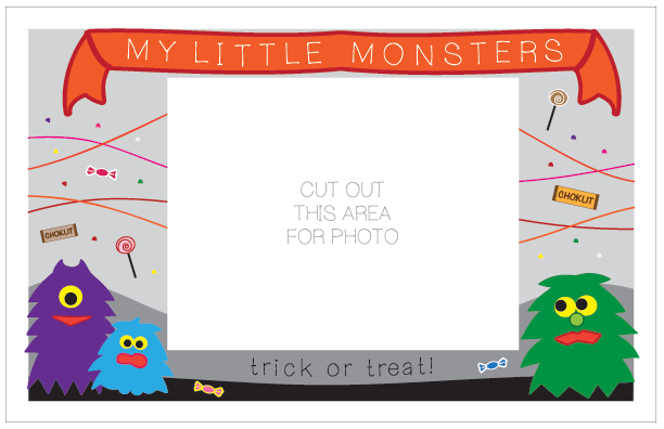 Little Monsters Card Frame
