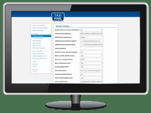 TaxiHail Admin Portal Company Settings