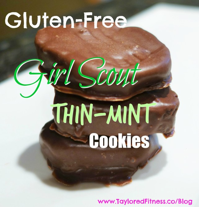 Girl Scout Thin Mint Cookies, Gluten-Free – Taylored Fitness