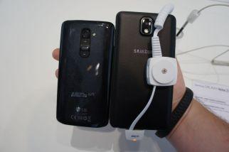 Galaxy Note 3 Vergleich LG G2