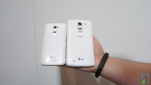 LG G Pro 2 und LG G2
