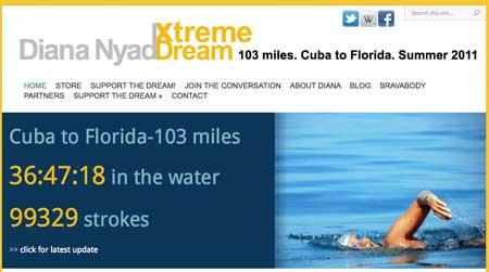 Travesía de Diana Nyad entre Cuba y Florida