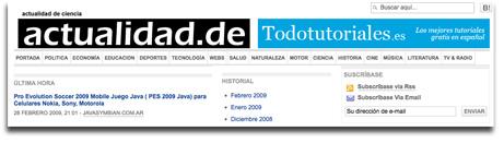 Banner de Todotutoriales en actualidad.de