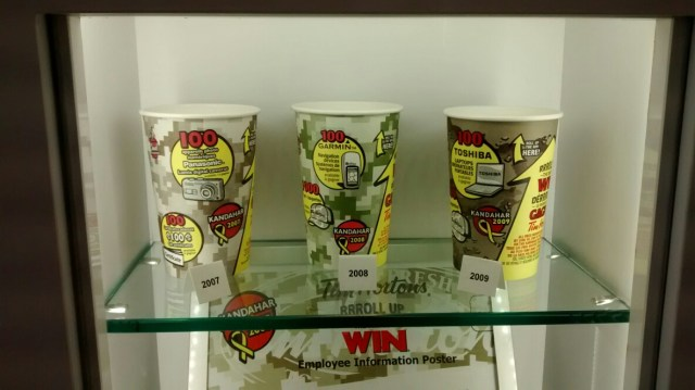 Tim Hortons Roll Up The Rim 2007-2009