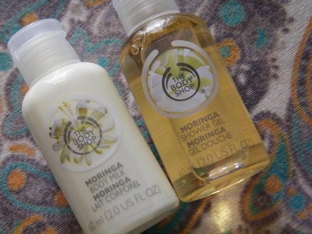 Moringa Products From The Body Shop (Tea & Nail Polish)