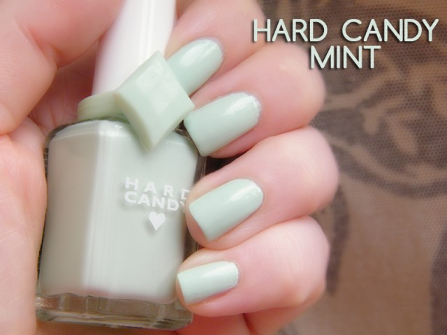 Hard Candy 20th Anniversary Nail Polish Mint Swatch & Review