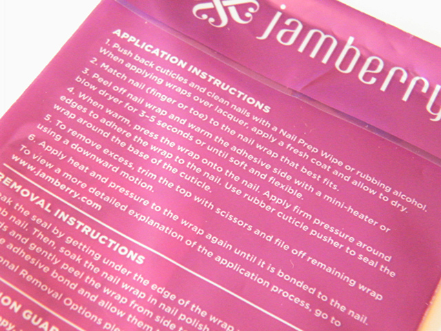 Jamberry Nail Wraps Gelato Instructions Review Canada
