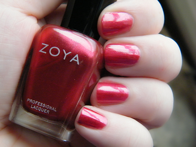 Zoya Jasmne Swatch Canada Tea & Nail Polish