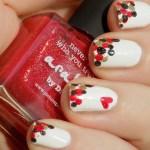 Valentine's Day Dotticure Nail Art