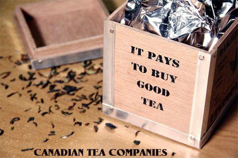 Canadian Tea Companies - Tea Companies in Canada - Where to buy tea in Canada