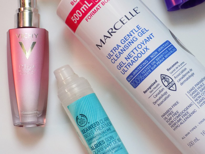 March Empties - Skincare