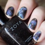 Sparkling Galaxy Nails