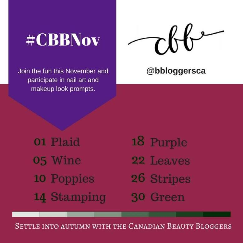 CBBNov Challenge - Day 1 Plaid Nails