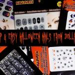 Dollarama Halloween Full Nail Options
