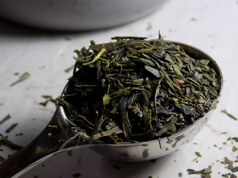 DavidsTea Imperial Sencha Tea Review Davids Tea Straight Teas Fall 2016 - Perfect Spoon of Loose Imperial Sencha Tea