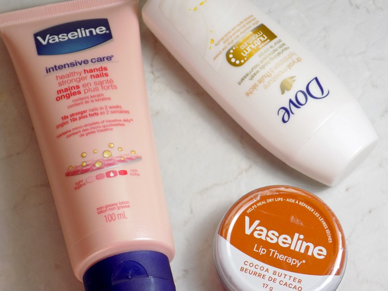 Topbox Unilever Trends Box - Skincare from Vaseline and Dove