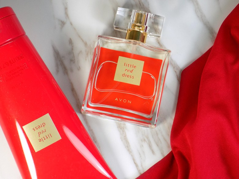 Avon Little Red Dress - Fragrance Set Review