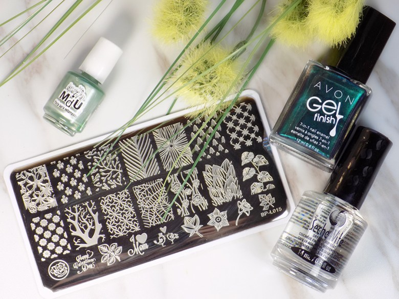 Born Pretty BP-L015 Stamping Plate - Avon Envy - MdU Forest