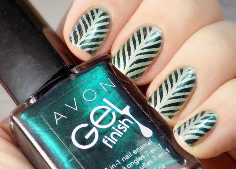 Born Pretty BP-L015 Stamping Plate Swatches - Avon Envy - MdU Forest