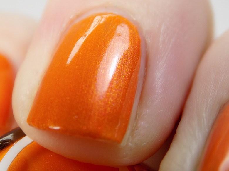 Joy and Polish Orange You Glad - Close Up Macro Shot