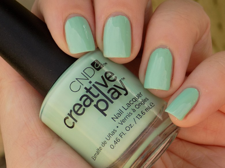 CND Creative Play Shady Palms from Sunset Bash Collection - Swatch Shade