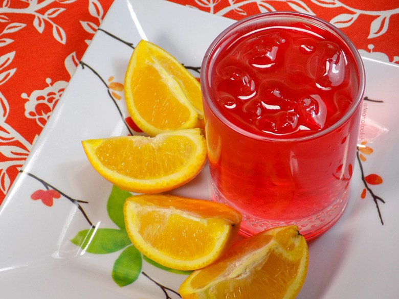 Davidstea Orange Passionfruit Freshly Squeezed Collection - Brewed Tea with Fruit Iced