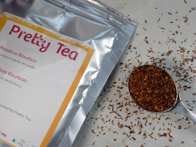 Pretty Tea Mystery Box Review - Rooibos Bourbon Review