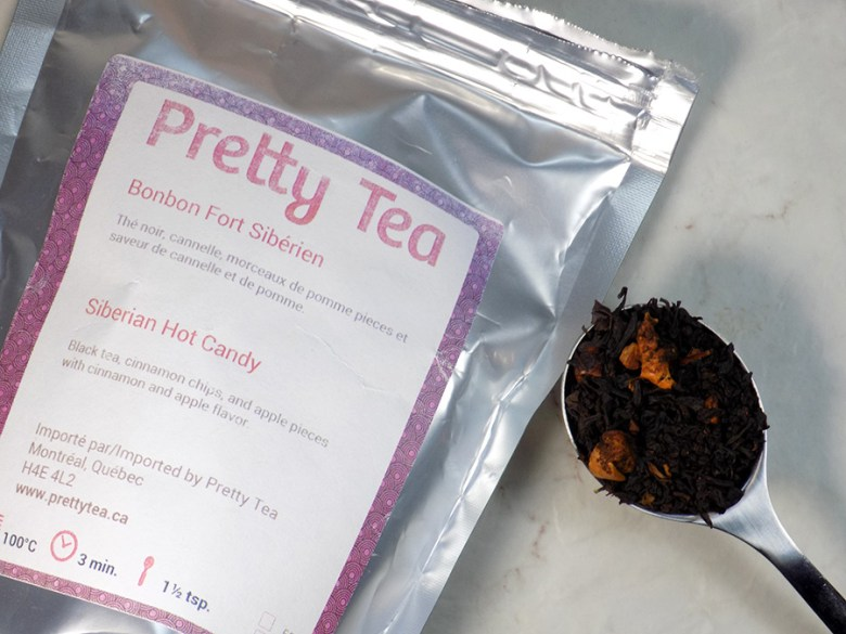 Pretty Tea Mystery Box Review - Siberian Hot Candy Review