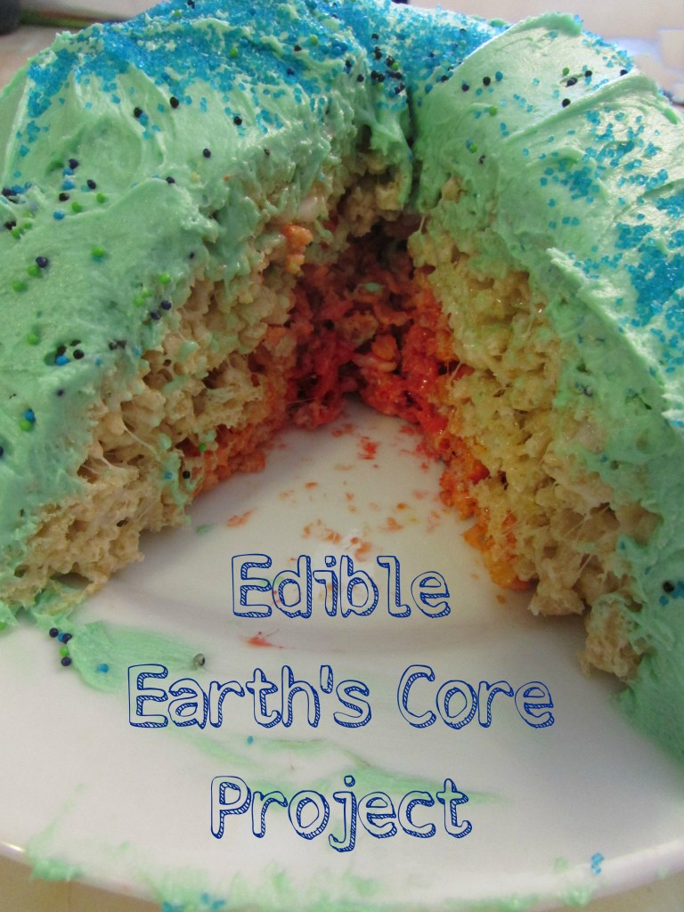 Edible earth's core project