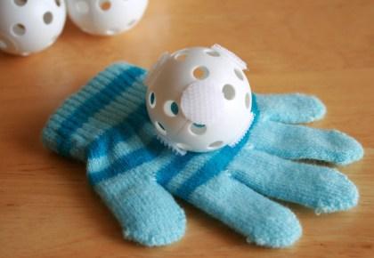 homemade velcro ball