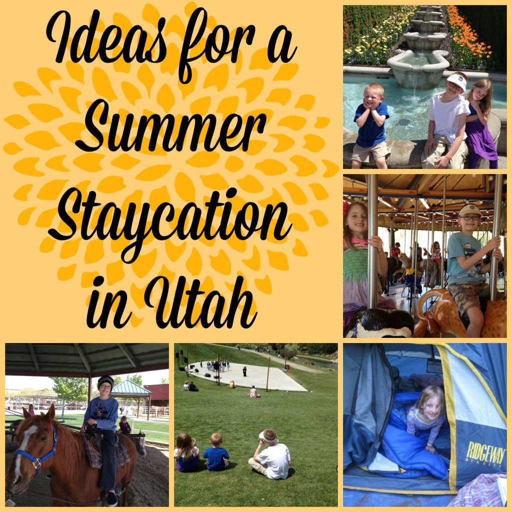 Utah Staycation