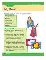 super hero activity page