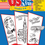 U.S Facts and Fun cover image of workbook for grades 4-6