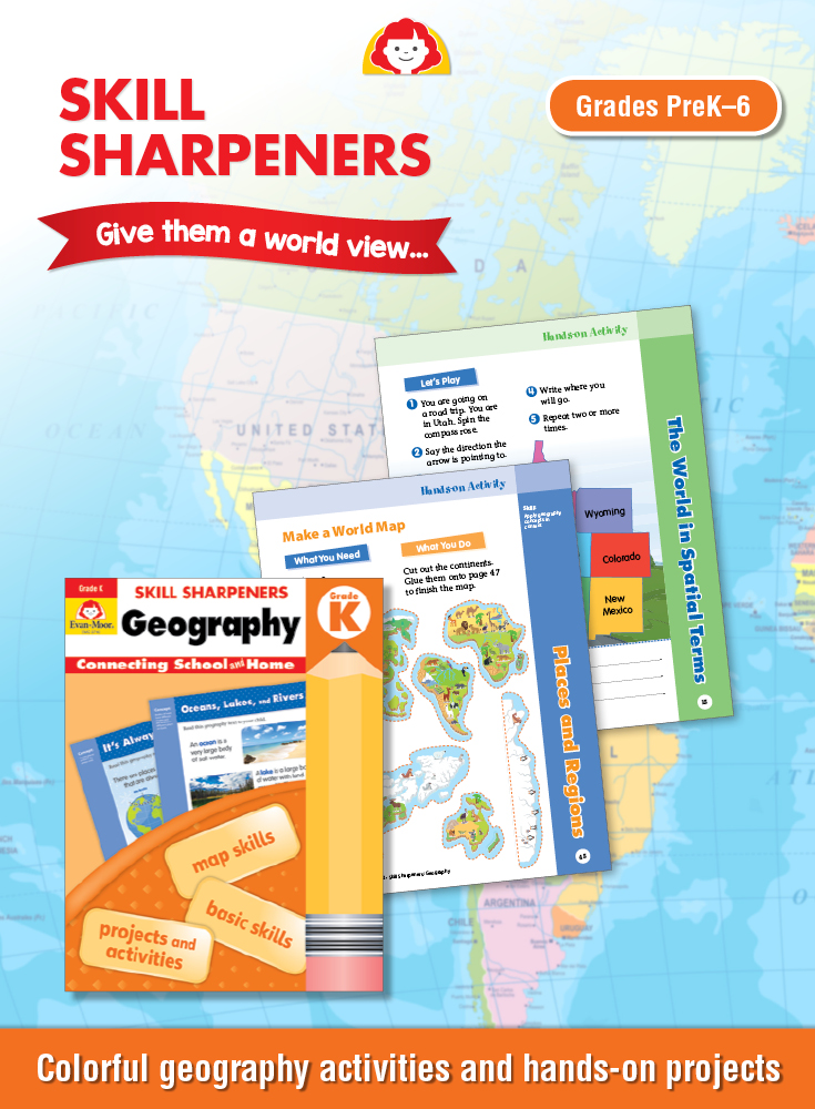 Skill Sharpeners Geography enrichment cover title