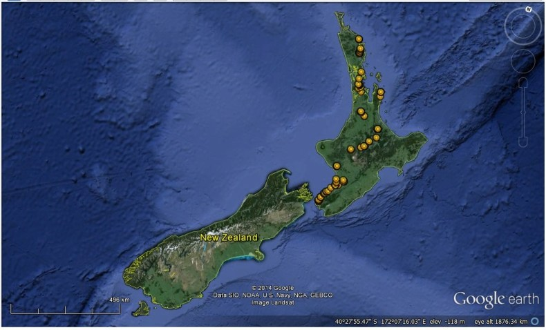 where we have been NZ