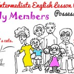 A2 Lower Intermediate English Lesson Plan - Possessive 's s' - family members