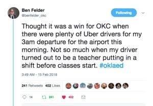 Felder Tweet