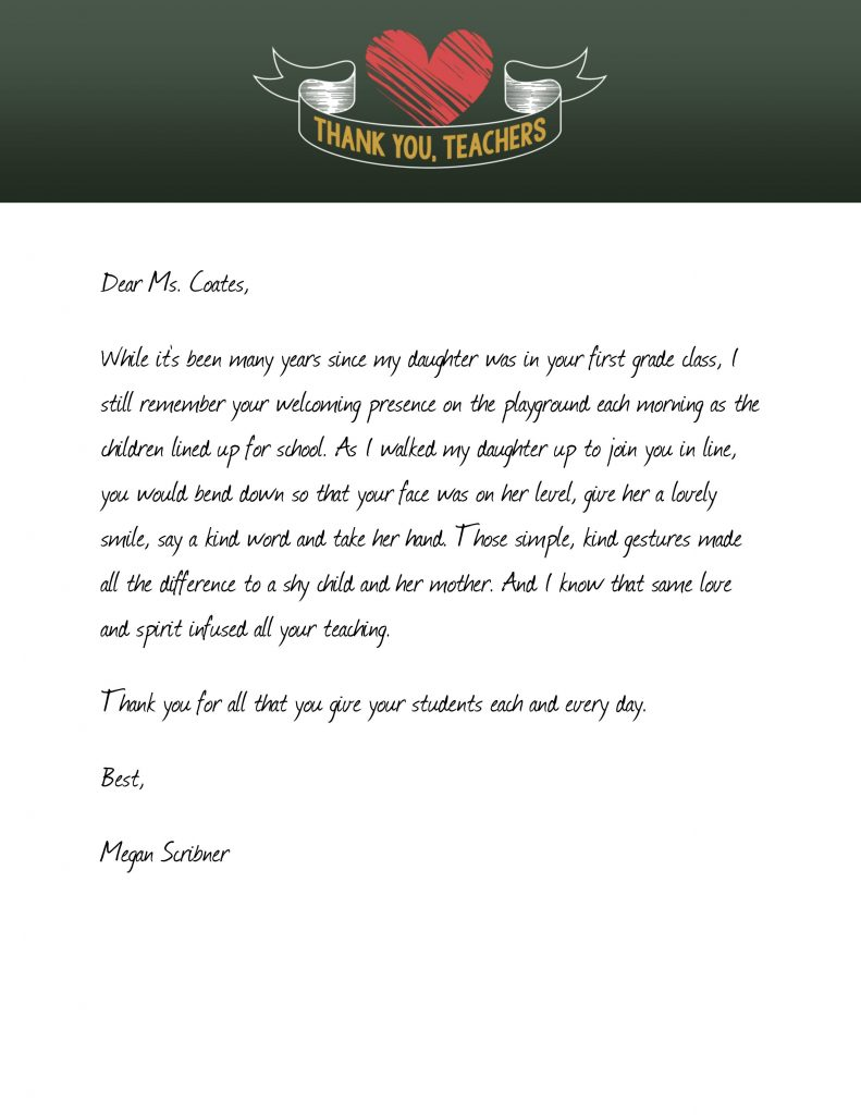 Large Of Thank You Letter For Gift