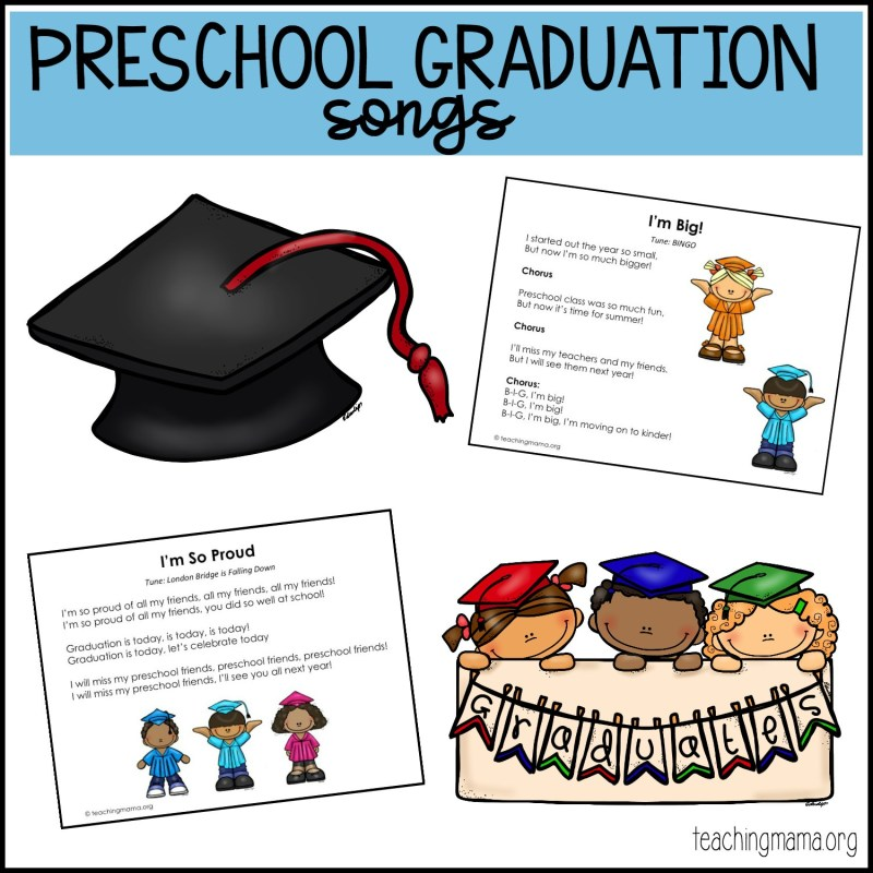Large Of Preschool Graduation Ideas