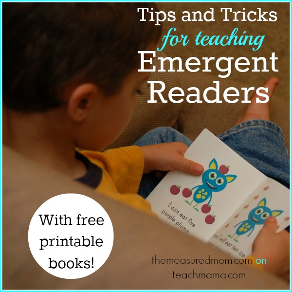 tips and tricks for teaching emergent readers