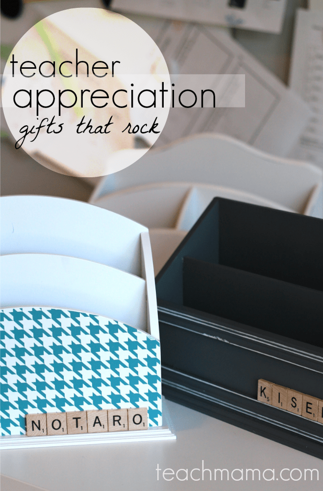 quick, cool teacher appreciation gifts | teachmama.com