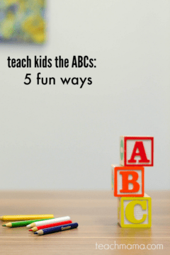 how to teach kids the ABCs: 5 fun ways