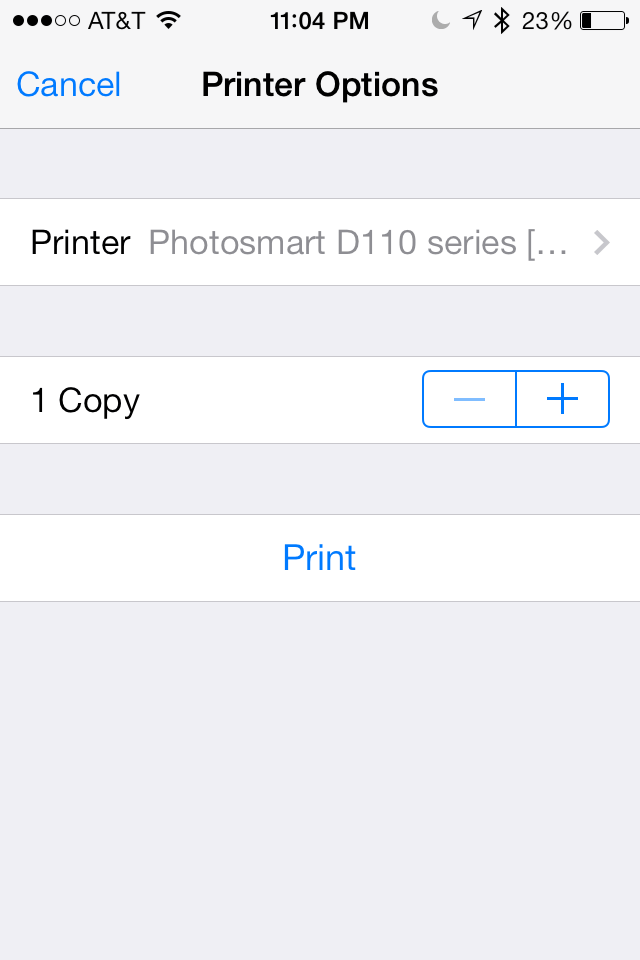 iOS 7 + 8 Tip: How to select and set up a wireless printer to directly print from your iPhone, iPad (Mini), and iPod Touch (AirPrint)
