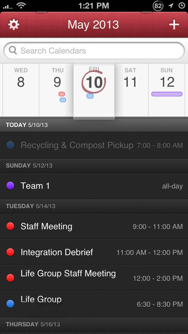 Calendar App Wallpaper Iphone : Fantastical best alternative calendar app for iphone and