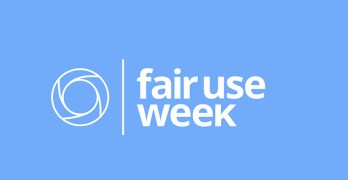 Fair Use Week – Fair Use in Online Instruction