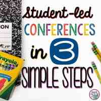 Student-led Conferences in 3 Simple Steps