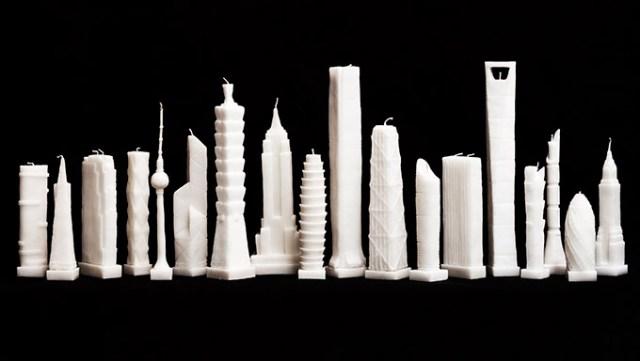 Skyscraper-Candles