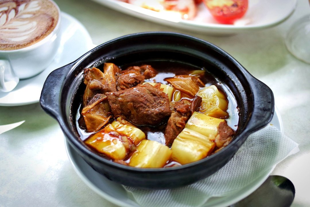 Beef Brisket Hot Pot from Fusion Cafe in Eastwood